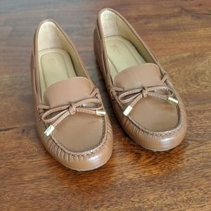 Michael Kors soft leather loafers